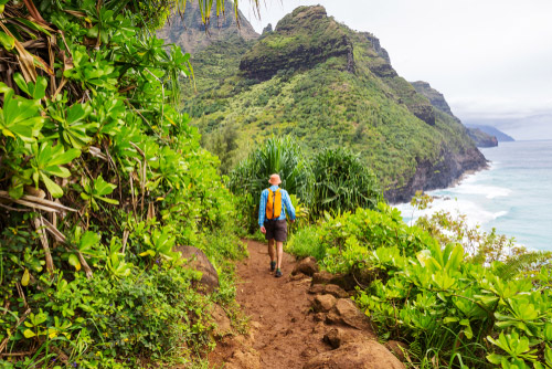 Ke E Beach Na Pali Coast Hiking North Shore Cab Company
